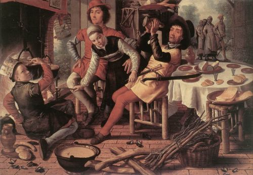 Peasants by the Hearth, 1560 by Pieter Aertsen