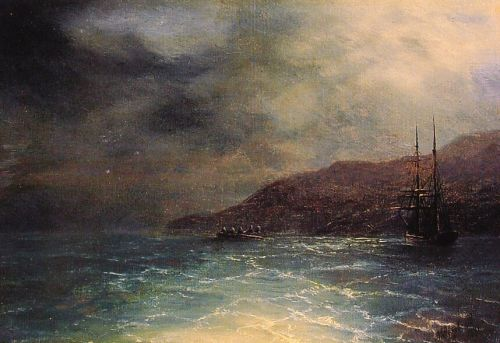 Nocturnal Voyage by Ivan Constantinovich Aivazovsky
