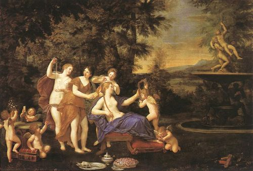 Venus Attended by Nymphs and Cupids, 1633 by Francesco Albani