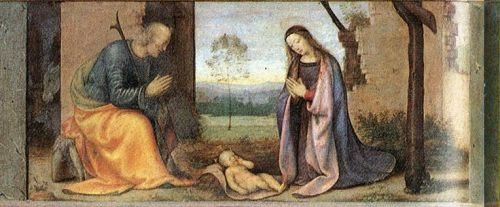 Birth of Christ, 1503 by Mariotto Albertinelli