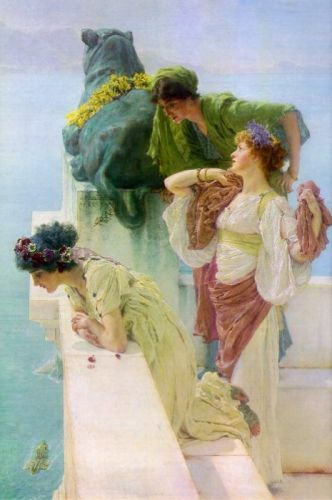 A Coign of Vantage, 1895 by Lawrence Alma-Tadema
