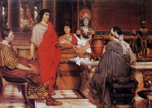 Catullus at Lesbia's, 1865 by Lawrence Alma-Tadema