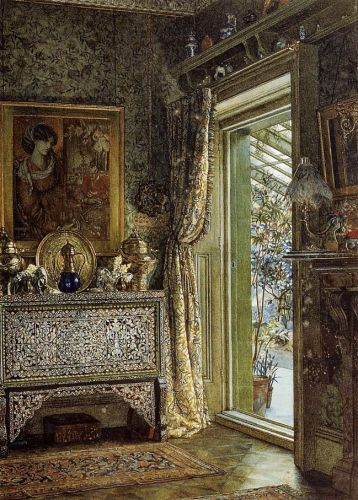Drawing Room, Holland Park by Lawrence Alma-Tadema