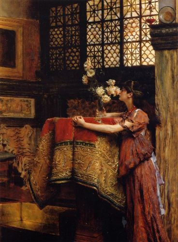 In My Studio, 1893 by Lawrence Alma-Tadema