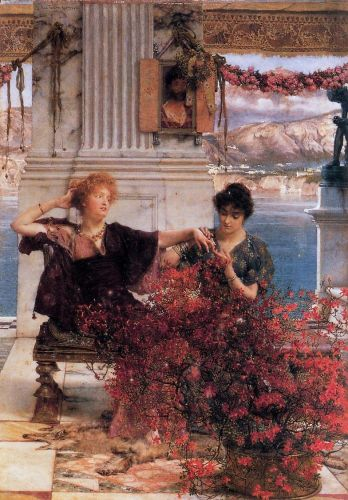 Love's Jewelled Fetter, 1895 by Lawrence Alma-Tadema