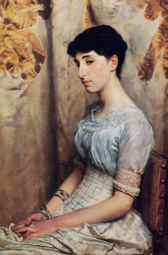 Miss Alice Lewis, 1884 by Lawrence Alma-Tadema