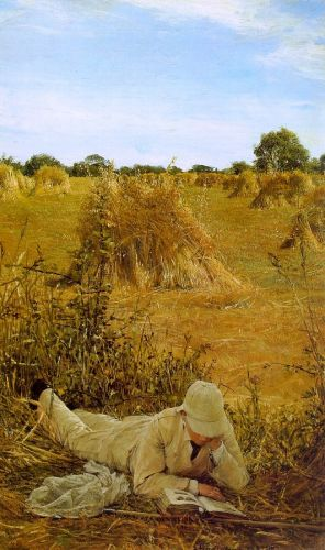 Ninety-Four Degrees in the Shade, 1876 by Lawrence Alma-Tadema