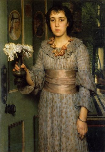 Portrait of Anna Alma-Tadema, 1883 by Lawrence Alma-Tadema