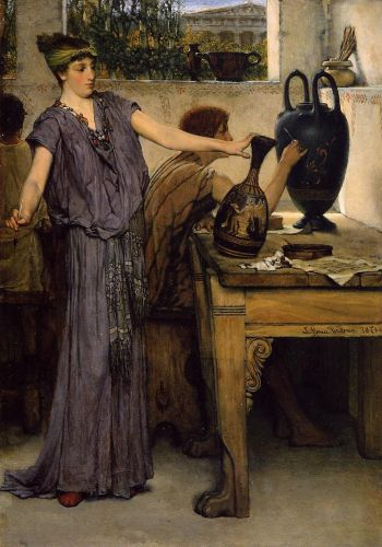 Pottery Painting, 1871 by Lawrence Alma-Tadema