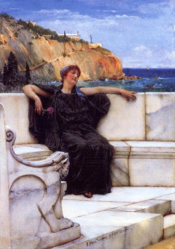 Resting, 1882 by Lawrence Alma-Tadema