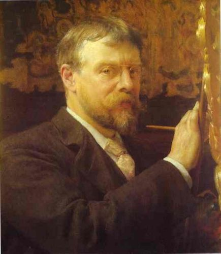 Self Portrait, 1896 by Lawrence Alma-Tadema