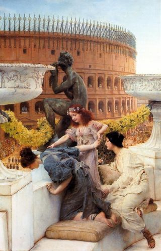 The Colosseum, 1896 by Lawrence Alma-Tadema