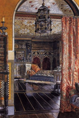 The Drawing Room at Townshend House, 1885 by Lawrence Alma-Tadema