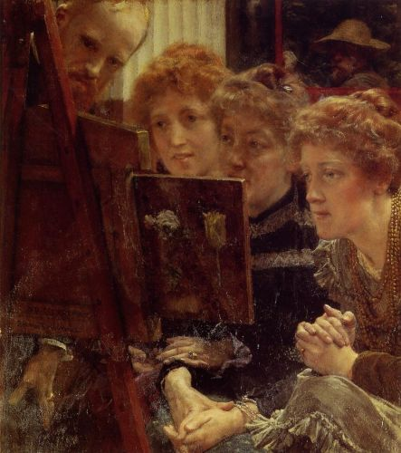 The Family Group, 1896 by Lawrence Alma-Tadema
