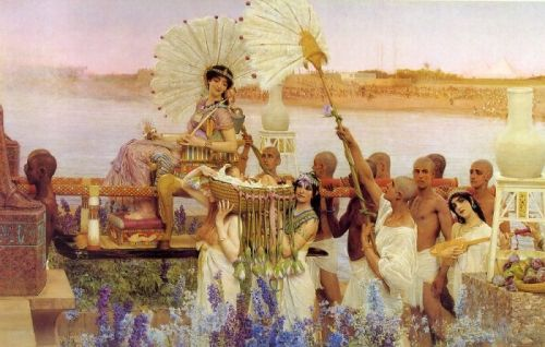 The Finding of Moses, 1904 by Lawrence Alma-Tadema