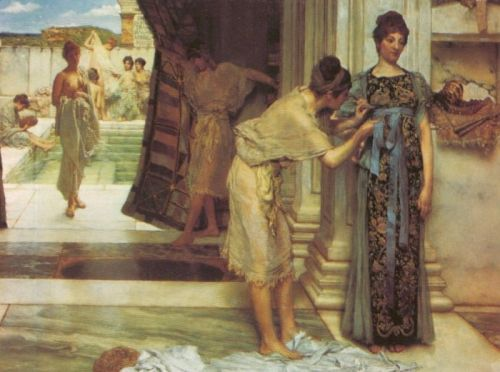 The Frigidarium, 1890 by Lawrence Alma-Tadema
