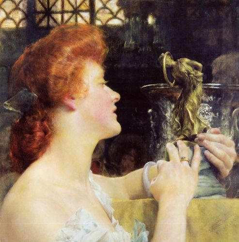 The Golden Hour, 1908 by Lawrence Alma-Tadema