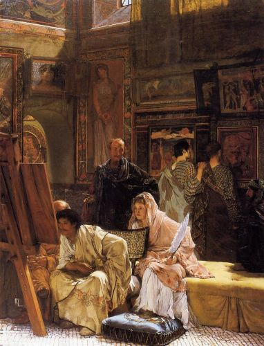 The Picture Gallery, 1874 by Lawrence Alma-Tadema