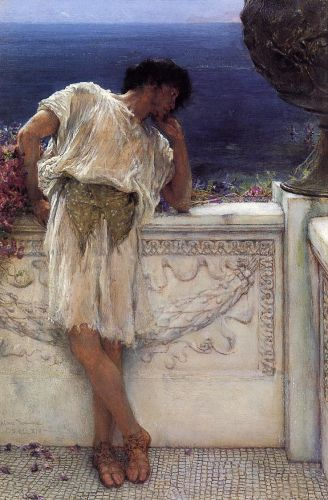 The Poet Gallus Dreaming, 1892 by Lawrence Alma-Tadema