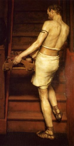 The Roman Potter, 1884 by Lawrence Alma-Tadema