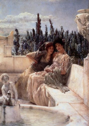 Whispering Noon, 1896 by Lawrence Alma-Tadema