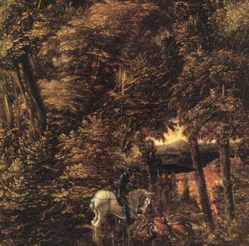 Saint George in the Forest, 1510 by Albrecht Altdorfer