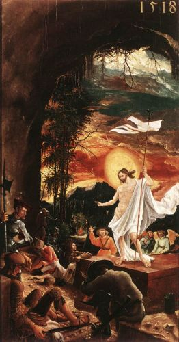 The Resurrection of Christ, 1516 by Albrecht Altdorfer