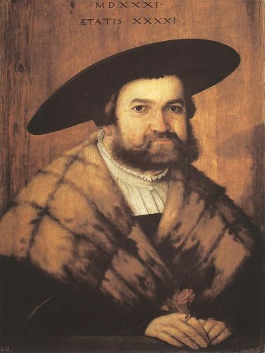 Goldsmith Jörg Zürer of Augsburg, 1531 by Christoph Amberger