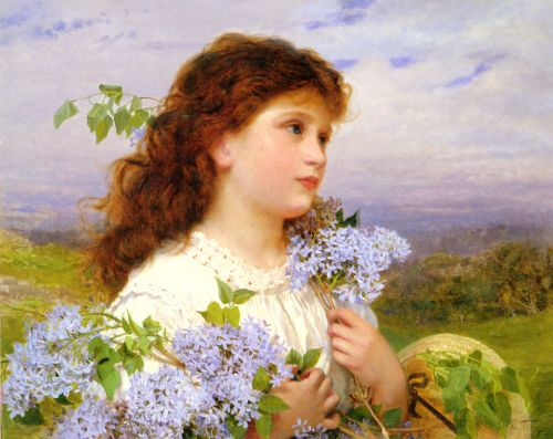 The Time of the Lilacs by Sophie Gengembre Anderson