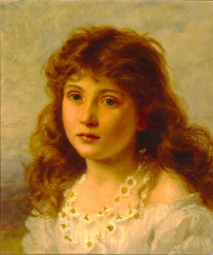 Young Girl by Sophie Gengembre Anderson