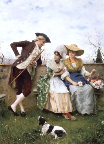 Flirtation by Federico Andreotti