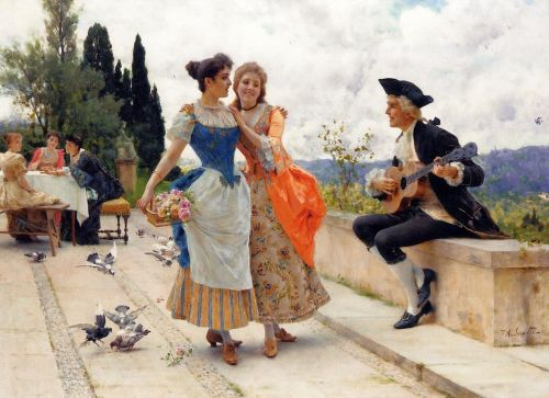 The Serenade by Federico Andreotti