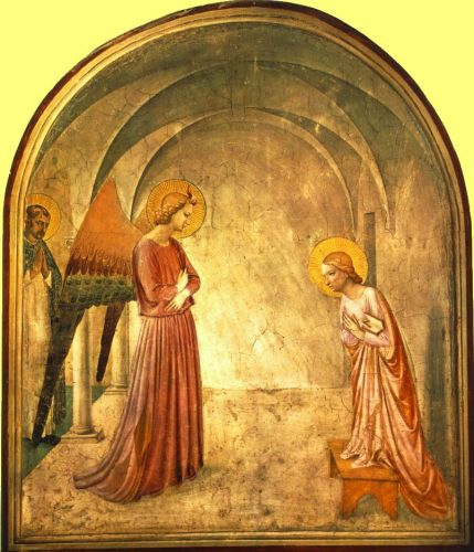 Annunciation, 1441 by Frà Angelico