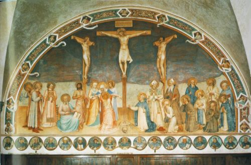 Crucifixion and Saints, 1441-1442 by Frà Angelico