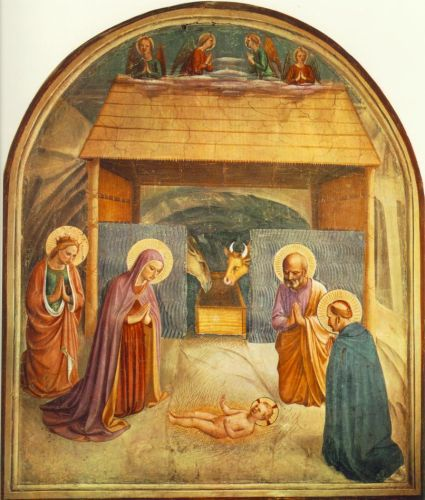 Nativity, 1439-1443 by Frà Angelico