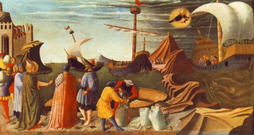 Story of St Nicholas by Frà Angelico