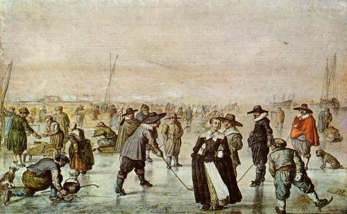 A Scene on the Ice, 1630 by Hendrick Avercamp
