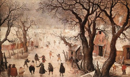 Winter Landscape by Hendrick Avercamp