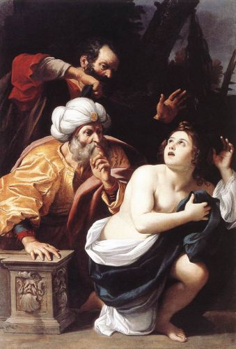 Susanna and the Elders, 1609 by Sisto Badalocchio