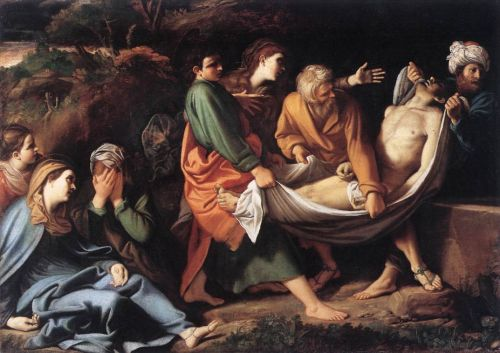 The Entombment of Christ, 1610 by Sisto Badalocchio
