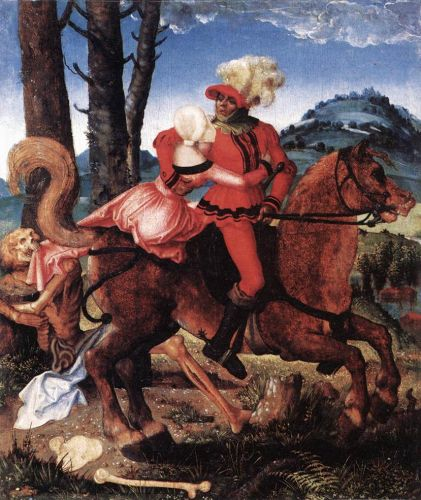 The Knight, the Young Girl, and Death, 1505 by Hans Baldung