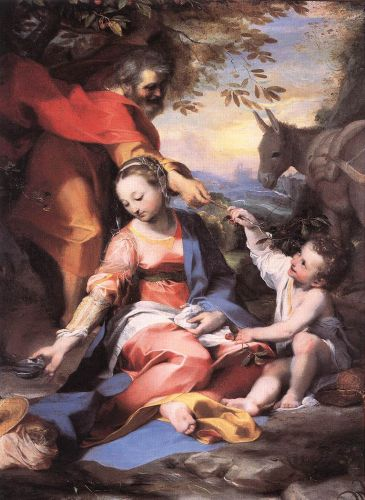 Rest on the Flight to Egypt, 1570-1573 by Federico Barocci