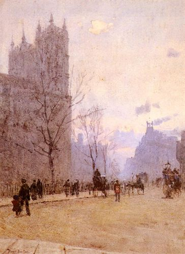 Westminster Abbey by Rose Maynard Barton