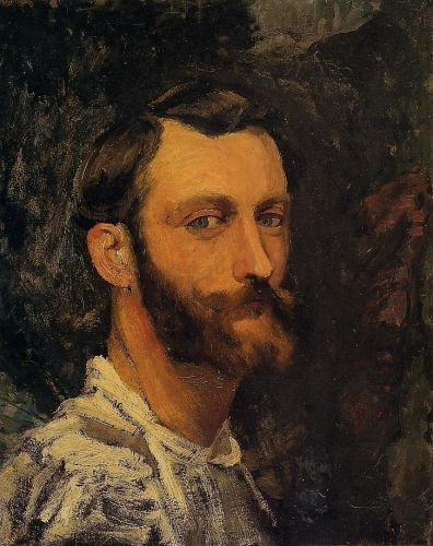 Self Portrait, 1870 by Frédéric Bazille