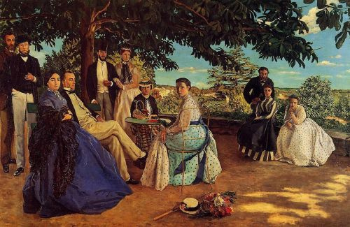 Family Reunion (Family Portraits), 1867 by Frédéric Bazille