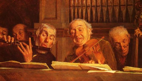 Five Members of an Orchestra by Gaetano Bellei