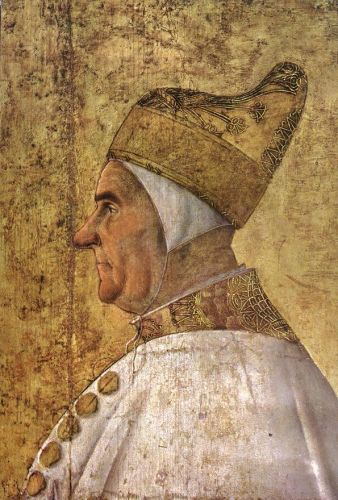 Portrait of Doge Giovanni Mocenigo by Gentile Bellini