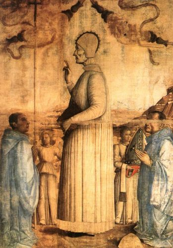 The Blessed Lorenzo Giustiniani, 1465 by Gentile Bellini