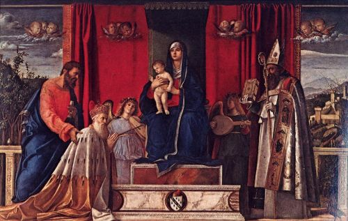 Barbarigo Altarpiece by Giovanni Bellini