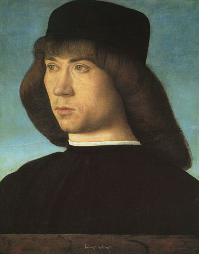Portrait of a Young Man, 1500 by Giovanni Bellini